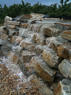 Denby Pondless Waterfall