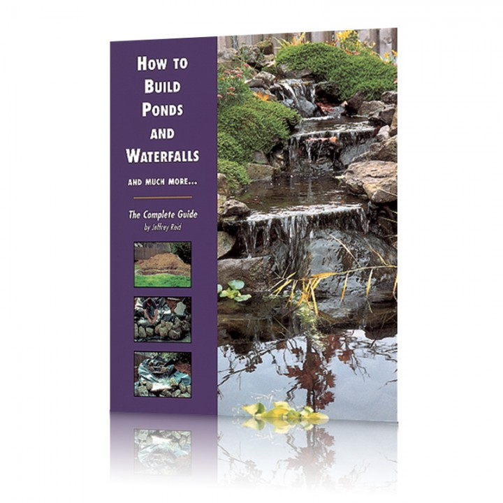 How to build ponds and waterfalls koi books and pond books for How much to build a koi pond
