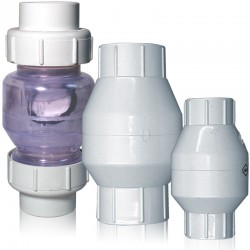 Swing Check Valves (PVC)