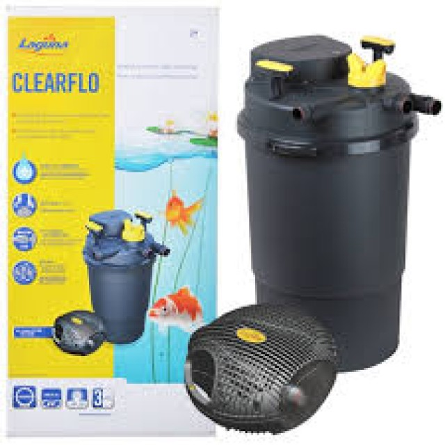Pond filter beli indonesian set lot murah laguna pressure for External fish pond filters